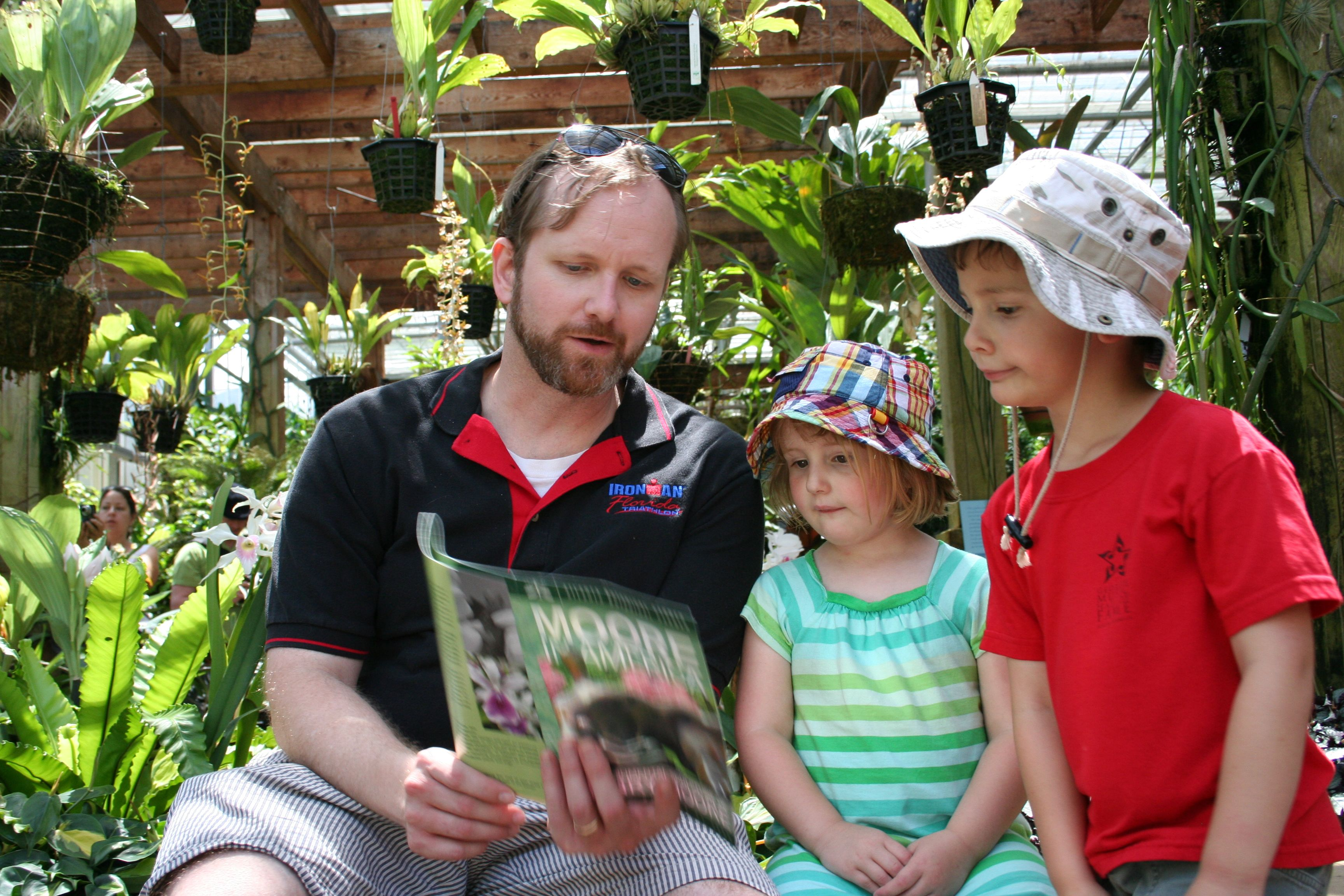 Jason and Kids Pore Over Map, Plotting Our Next Move