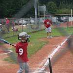 Number Nine at Bat