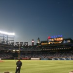 Dusk at Turner Field