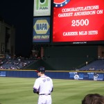 Bat Boy, Garrett Anderson 2500 Hits