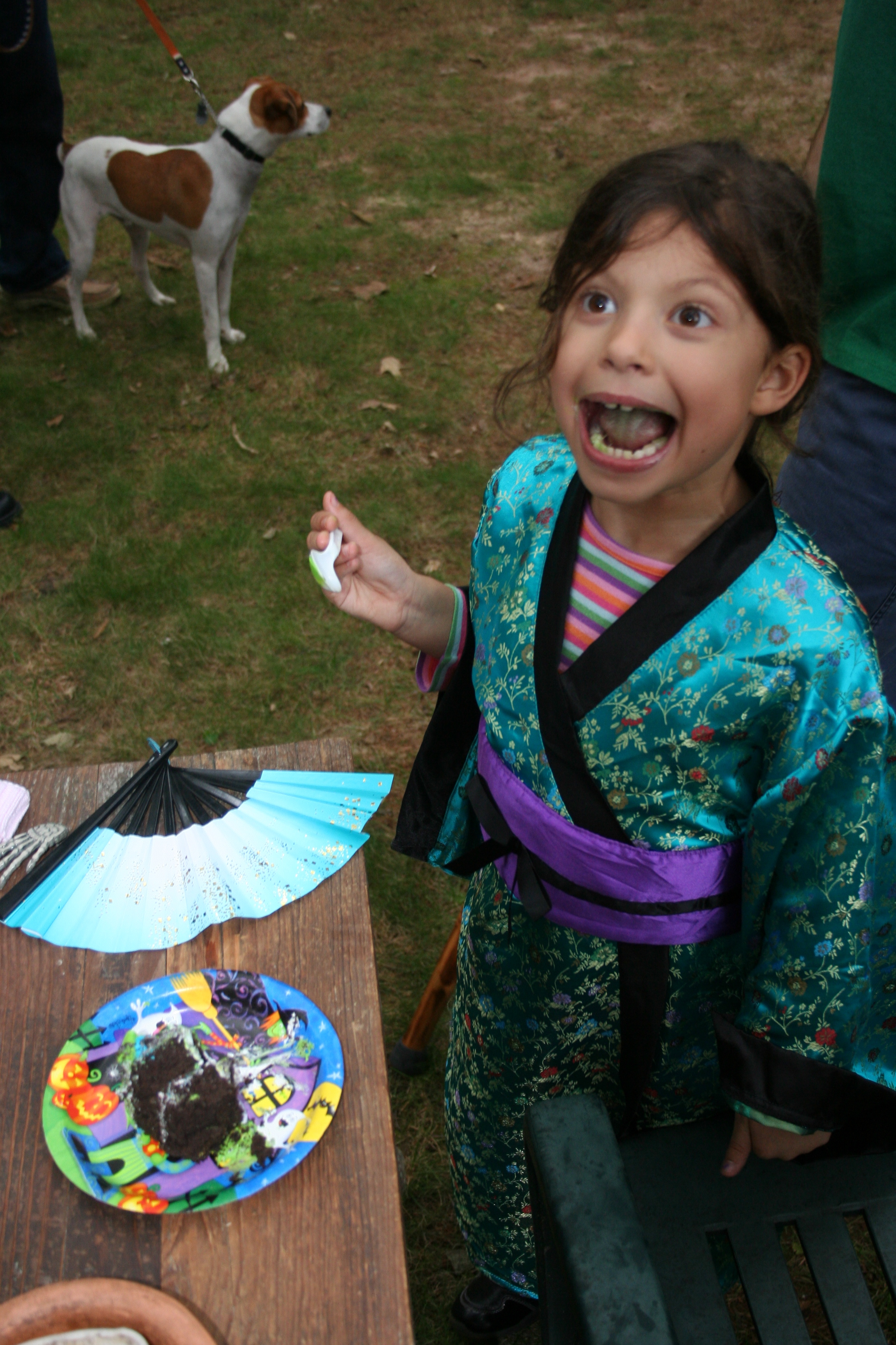 Leah Gets Crazy in Kimono