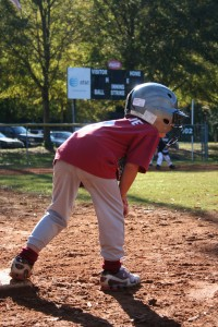 You Lead Off a Little When You're On Third Base, Eyes on the Batter