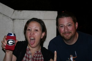 This is what i look like very sober. This is what Todd looks like when he is humoring me.
