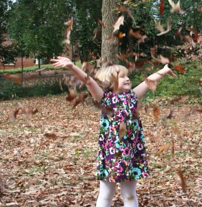Leaf Throwing