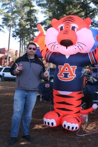 Todd and Inflatable Aubie