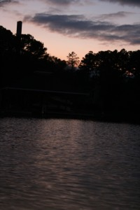 Sunset over the Cove