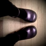 OMG, Purple Sequined Platform Mary Janes Made Me REALLY Tall and Awesome.
