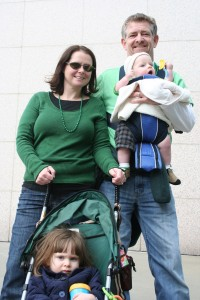 We all rode Marta and managed to get home without losing any kids, or Slade, who is part Leprechaun.