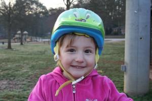 Helmet. See?