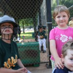 Cousins at T-Ball