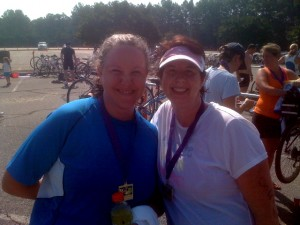 Me and Megan, Post-Race