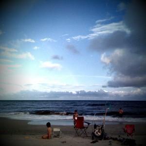 My Sweet Family on the Beach