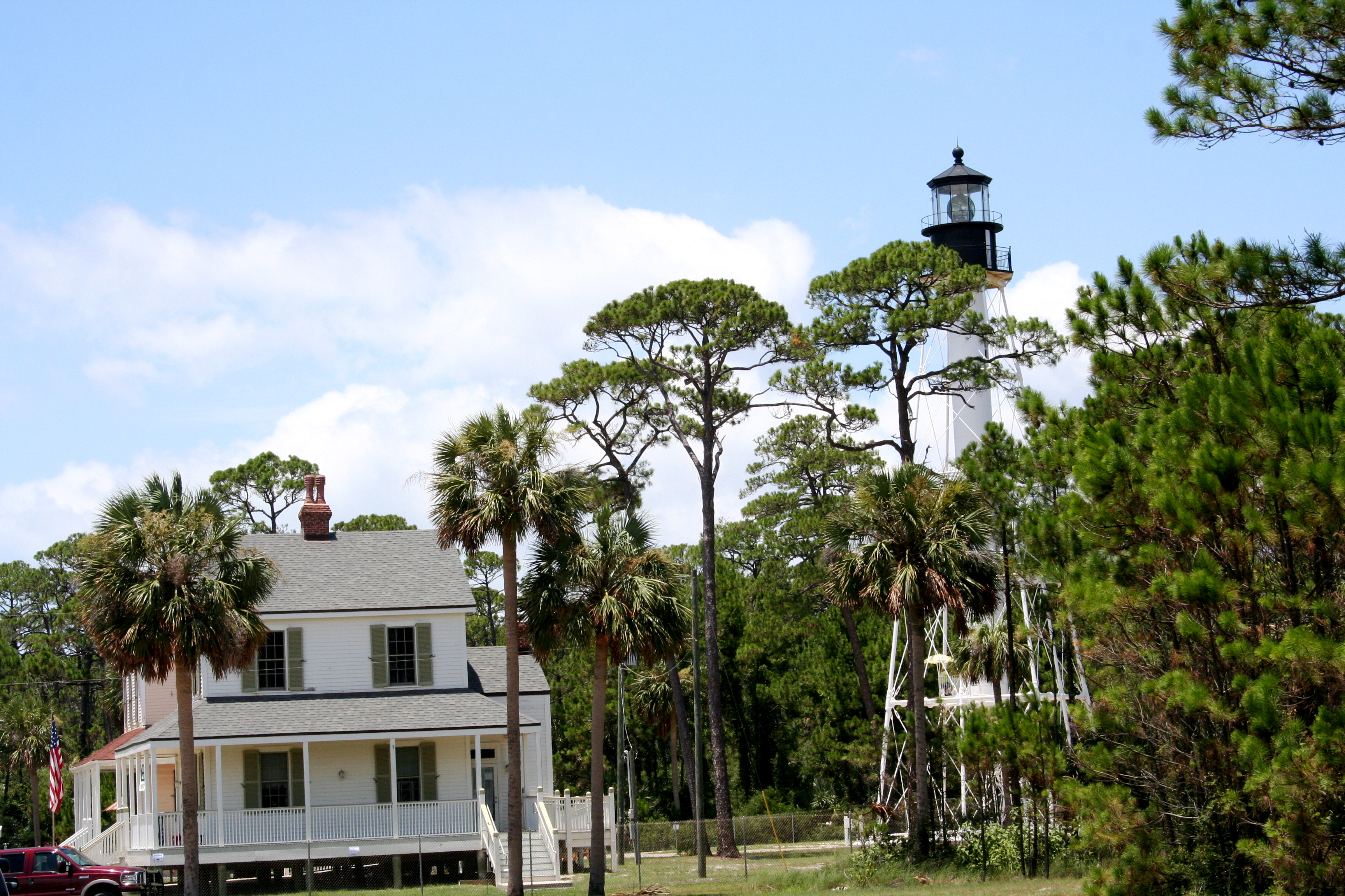 Keeper's Cottage and Lighthouse