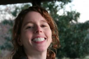 Happy, smiley Laura.