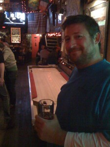 And then we all went to a bar and played shuffleboard.