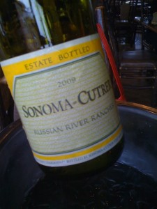 And good Chardonnay. Don't get the good stuff nearly often enough.