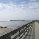 Backriver pier.