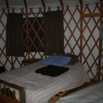 Futon beds.