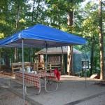 Donroe-Wells campsite.