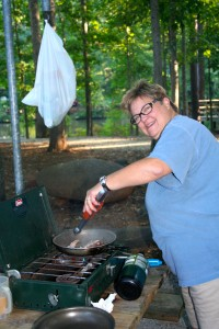 Mary cooks it up!