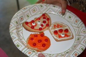 We decorated cookies. Not a bad way to spend an afternoon.
