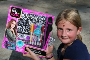 Just what all 8 year olds need. She loved this gift, and it actually looks really, really cool.